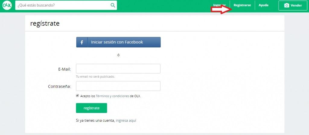 como Publicar anuncio gratis en Olx Perú