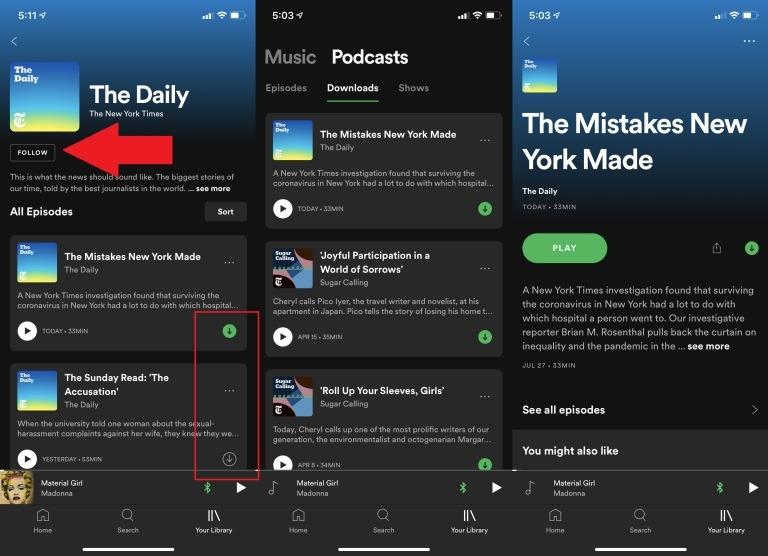 descargar música de Spotify sin programas